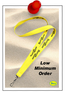 Low Minimum Order Lanyards