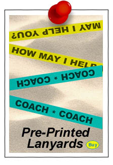 pre-printed lanyards with boy names or girl names