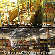 Interior of Lanyards Store Warehouse