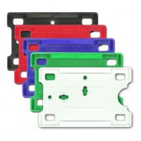 Hard Colorful Badge Holders (Card Size: 3 3/8 X 2 1/8)