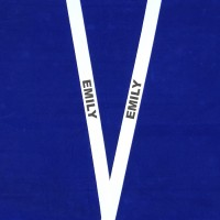 Lanyard Printed With The Name  'EMILY'