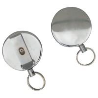 Blank Heavy Industrial Metal Retractable Key Reels