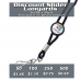 Custom Printed Slider Medallion Lanyard - Epoxy Dome