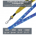 Custom Printed Full Color Lanyard - 4 Color Process Imprinting