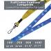 Custom Printed Full Color Lanyard - 4 Color Process Imprinting