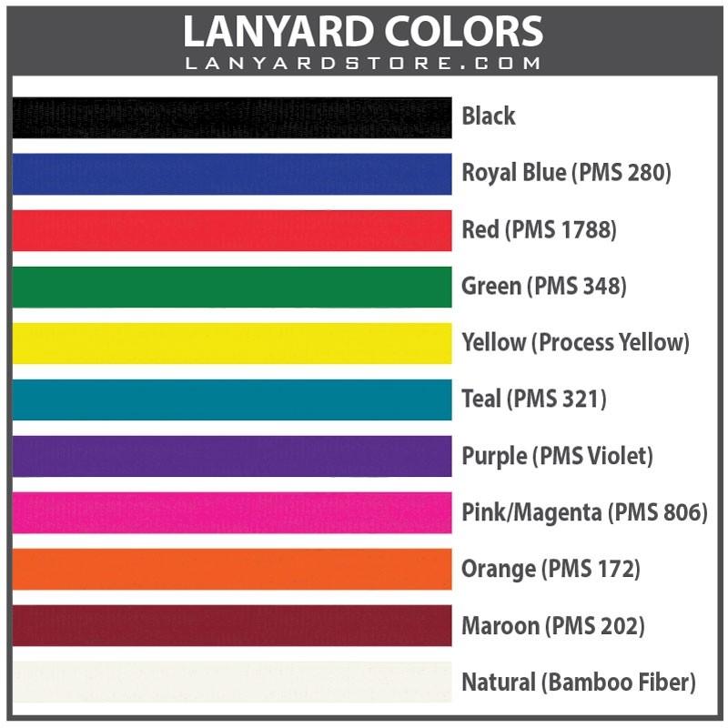 Custom Lanyards No Minimum Order