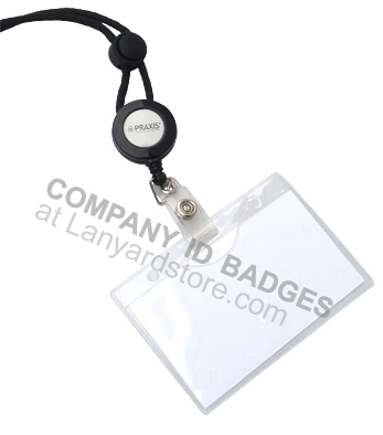 Depicts a id badges for company ID