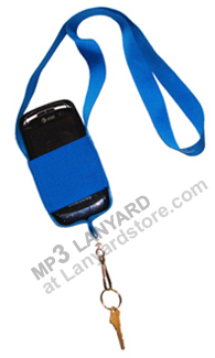 Image of lanyard for mp3 ID