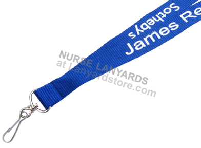 Pictured: lanyards for nurse ID