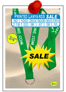Printed Discount Lanyards