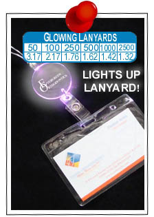 Light Up and Glowing Lanyards