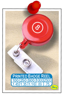 Printed Retractable Badge Reels