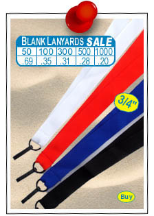 Blank Sale Lanyards