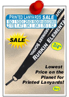 Super Cheap Custom Printed Lanyards